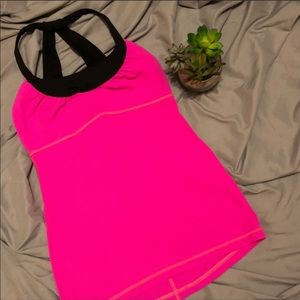 Lululemon Scoop Me Up Tank II Size 2 Raspberry